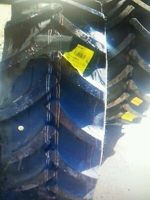 Two New 44065r24 14.9r24 Continental John Deere Ford Tractor Tires
