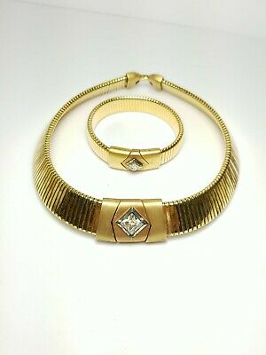 1930s Art Deco Style Jewelry 1930s Antique Napier Matching Choker 15