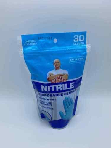 90 pcs Disposable Gloves Nitrile Exam Free Strong Non Vinyl Latex Non Powder