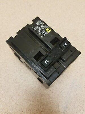 New Square D Hom230 Hom Circuit Breaker 30a 30 Amp 2p 2 Pole 240v 240 Volt