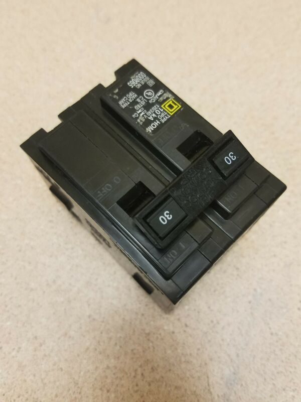 NEW SQUARE D HOM230 HOM CIRCUIT BREAKER 30A 30 AMP 2P 2 POLE 240V 240 VOLT