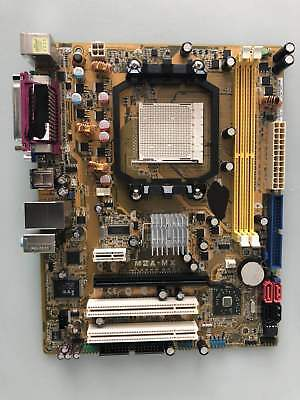Asus M2A-MX Motherboard AM2/AM2+ USB2.0 SATA2 DDR2 M-ATX+I/O Shield new tested A