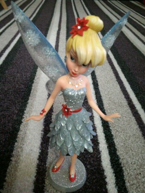 Disney Showcase Haute Couture Winter Ice Tinker Bell Figure Tinkerbell Ornament