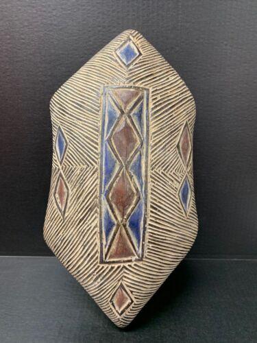 AFRICAN ART  ZULU SHIELD