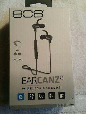 808Wireless BLK Earbuds