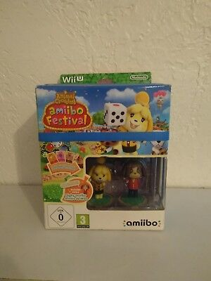 Animal Crossing Amiibo Festival Jeu Vidéo Nintendo Wii U