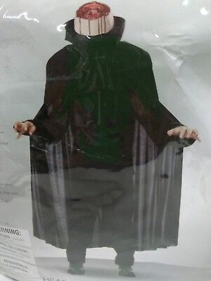 Headless Horseman Sleepy Hollow Child's Halloween Costume Sz Med (8-10) NEW