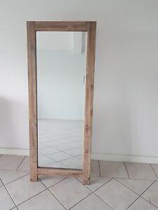 Beautiful Acacia Timber Frame Mirror