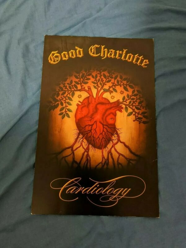 Good Charlotte Cardiology promo poster 17x11