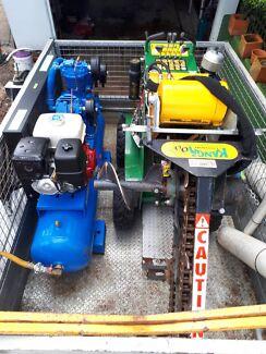 NBN Civil Kit - Trencher/Bucket/compressor/Grundo/Trailer Mount Gravatt Brisbane South East Preview