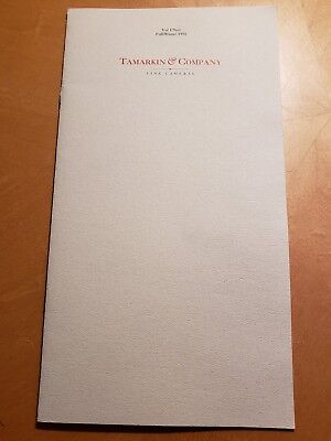 TAMARKIN Fine Cameras CATALOG #1 1991 leica contax hasselblad