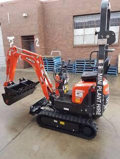 1 Ton Excavator Hire $220 P/Day