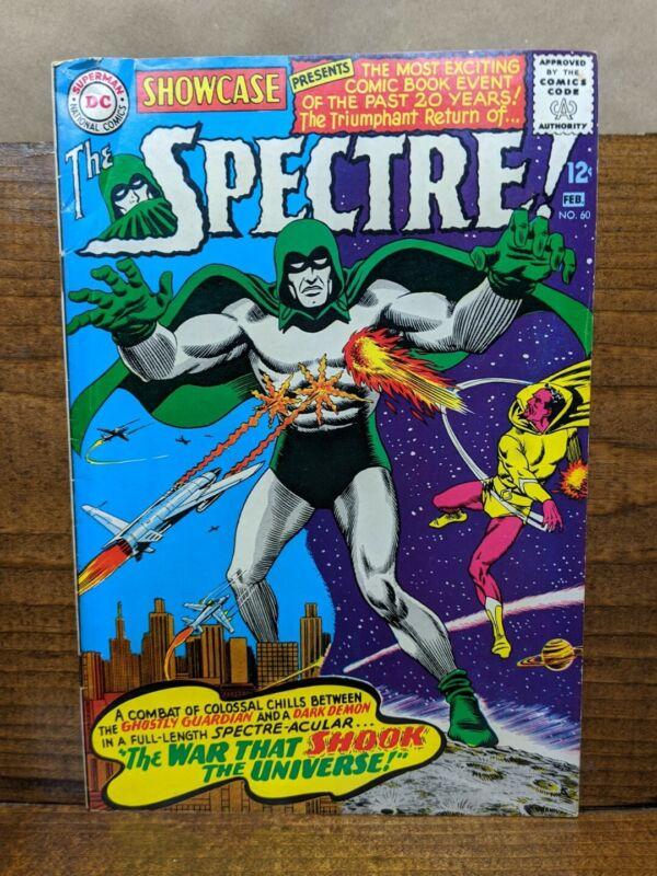 SHOWCASE 60 (DC Feb. 1966) Fox Anderson 1st Silver Age Spectre KEY