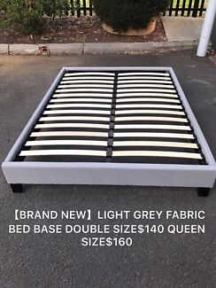 Brand new fabric bed frame base Double$140,Queen$160