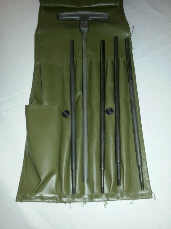 Cleaning Rod 50 Cal Rod Set with Case