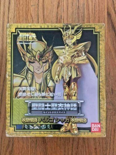 Bandai GOLD Saint VIRGO SHAKA CLOTH MYTH NEW SEALED HOLIDAY USA