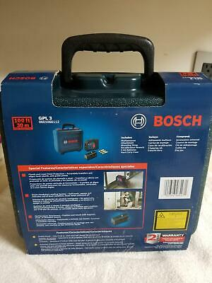 BOSCH 3-POING SELF-LEVELING ALIGNMENT LASER