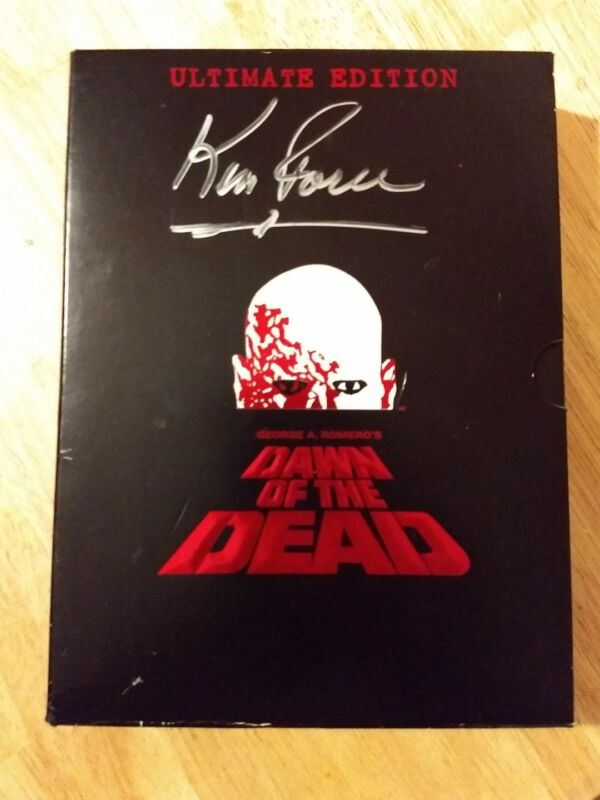Dawn of the Dead Ultimate Edition Signed Autographed by Ken Foree