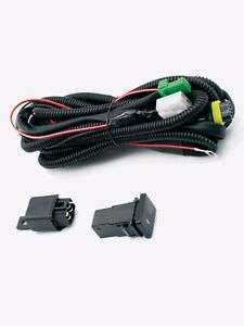 NEW DRIVING LIGHT WIRING HARNESS TOYOTA STYLE SWITCH