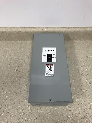 Siemens E2nis Circuit Breaker Enclosure 70a New