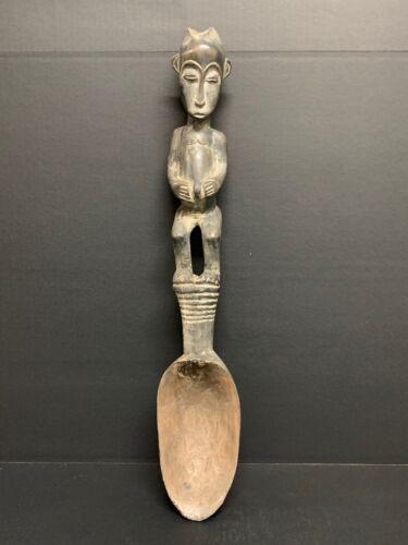 AFRICAN ART BAULE SPOON