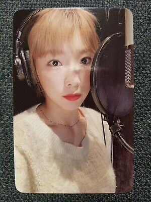 SOMETHING NEW 3rd Album SNSD 태연 TAEYEON Authentic Official PHOTOCARD #1