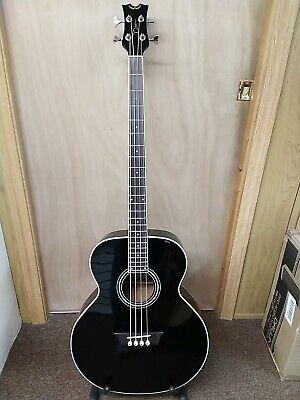 Dean EAB Acoustic Electric Bass Guitar Classic Black - Bstock LOCAL PICKUP
