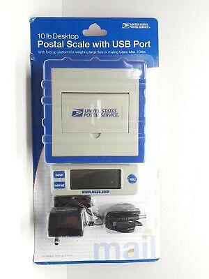 Electronic Digital Usps 10 Lb. Pound Desk Top Postal Scale Official