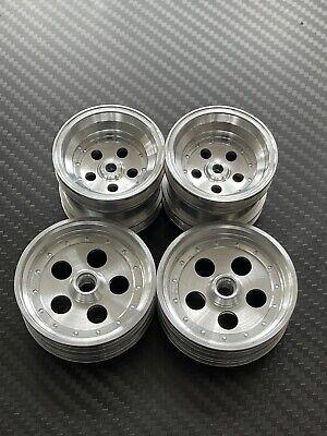 vintage kyosho tomahawk assault turbo scorpion 2014 alloy wheels set C type
