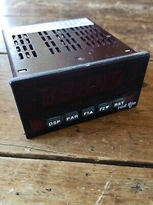 Red Lion Paxs0000 Strain Gauge Analog Input Panel Meter 5-digit Red Led Paxs
