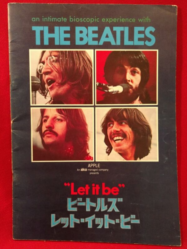 Let it be Japanese an intimate bioscopic experience with The Beatles program.
