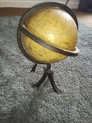 Vintage Antique Globe