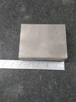 Titanium Block Plate 6al-4v 5 X 4 X 1.5 4lbs 12oz Chunk Sheet
