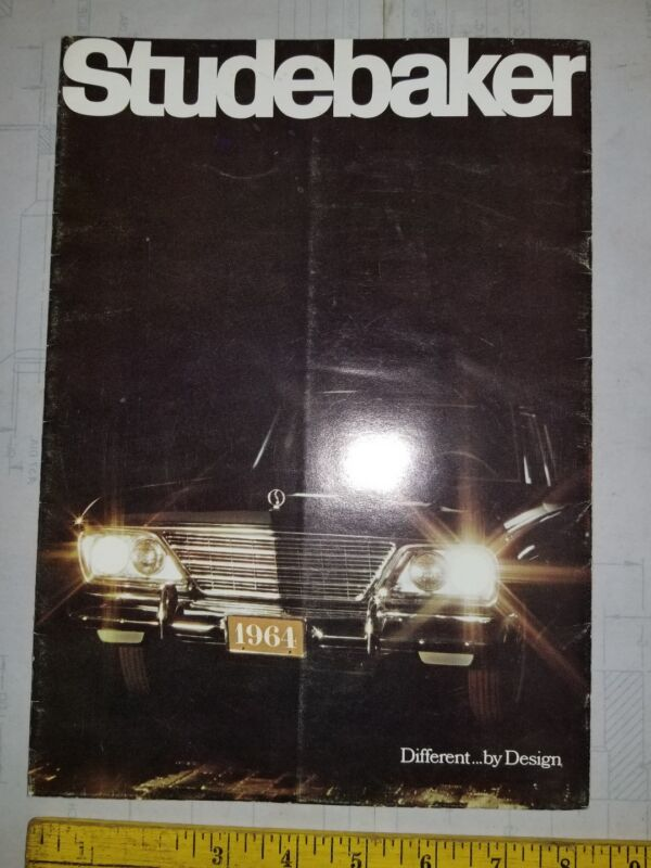 Reclaimed 1959 Studebaker Trucks Scotsman & Deluxe Series Sales Brochure