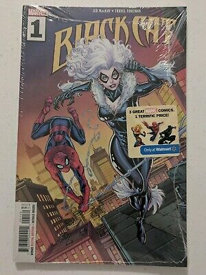 Black Cat #1 Wal-Mart Variant Exclusive (NM) HTF 2019 Marvel Comics - Todd Nauck