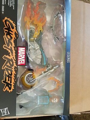 """🔥💀 Marvel Legends 6"""" ULTIMATE GHOST RIDER DELUXE MOTORCYCLE NEW IN STOCK 💀🔥"""
