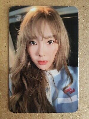 TAEYEON Official PHOTOCARD #5 MY VOICE DELUXE 1st Album SNSD 태연