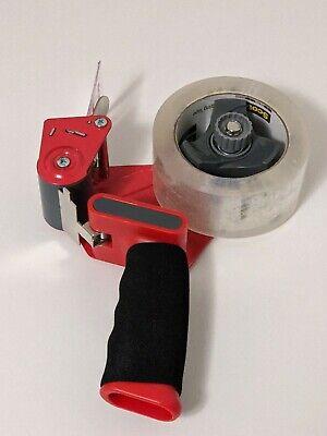 3m Scotch Tape Gun Dispenser W 1-heavy Duty 3850 Shipping Packaging Rolls