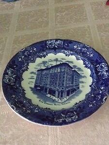 King Edward Hotel Plate