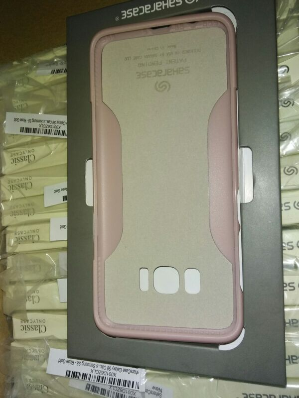 BOX OF 24  Sahara case Rose Gold Slim Phone Case Samsung Galaxy S8 FREE SHIP!