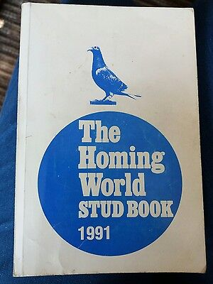 The Homing World Stud Book 1991. Royal Pigeon Racing Assoc. Xmas pigeon gift