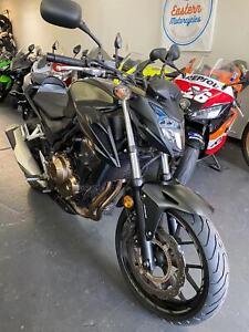 Honda CB500Fa abs lams Mascot Rockdale Area Preview
