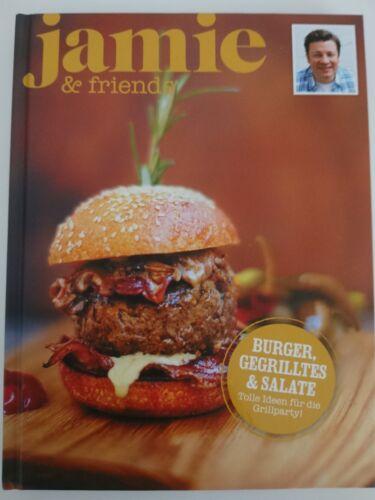 Jamie & Friends Burger gegrilltes Salate Kochen Sonderausgabe 2014 Jamie Oliver
