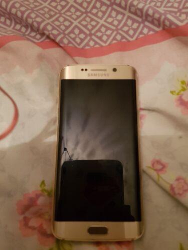 Samsung Galaxy S6 Edge ( Gold ) 32GB (EE)  (please read description)