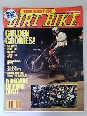 Best of Dirt Bike Magazine January 1980 100th issue FREE