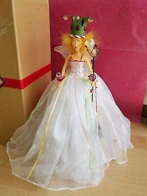 Patience Krinkles Sugar Plum Fairy Nutcrakr Valentine Tree Topper Figure DEPT 56