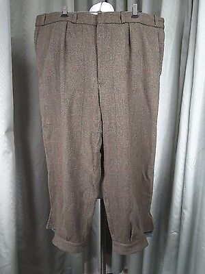 """James Purdey & Sons Breeks Plus Fours Breeches  Green Blue Red W42"""" RRP£395"""