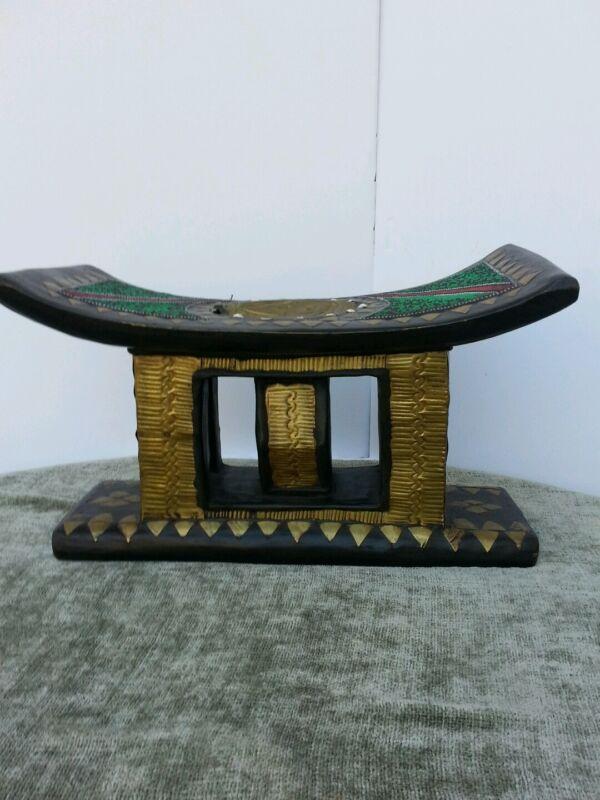 #8400 Asante (Ashanti) Ceremonial Stool. Ghana..Africa