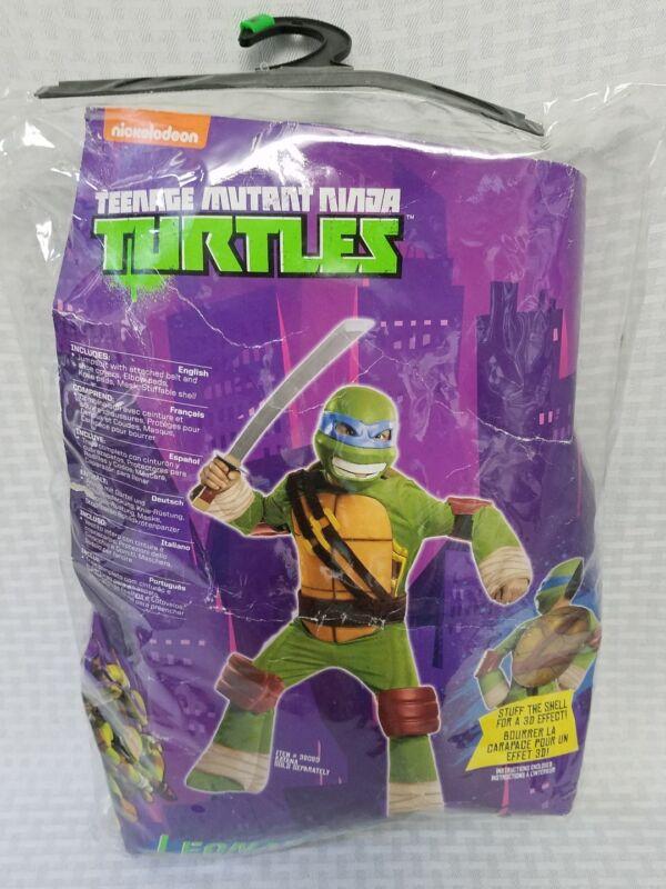Teenage Mutant Ninja Turtles LEONARDO Child Costume Size Boys Medium Ages 8-10