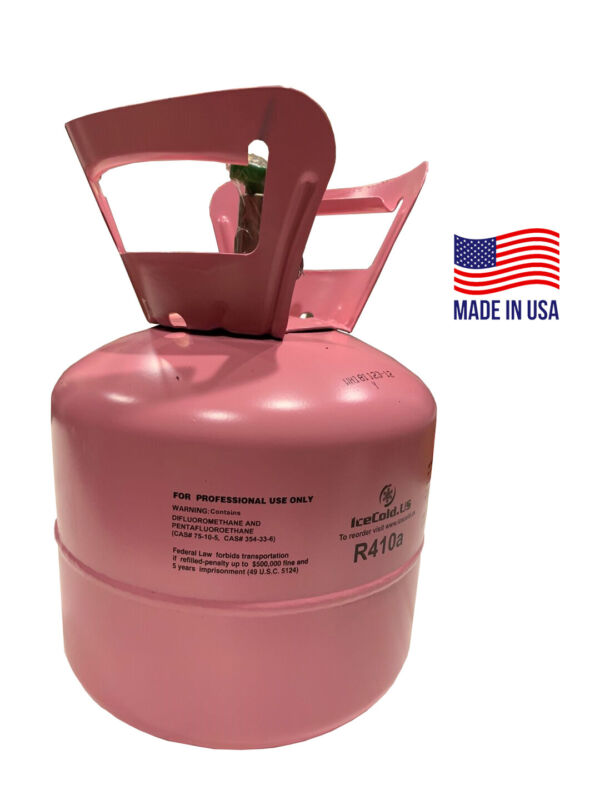 R410a, R-410a R 410a 7.5lb  Refrigerant. MADE IN USA